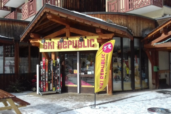 Ski Republic Plagne Bellecote - Centre Commercial